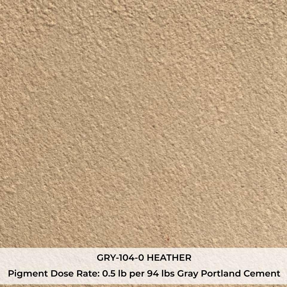 GRY-104-0 HEATHER Pigment