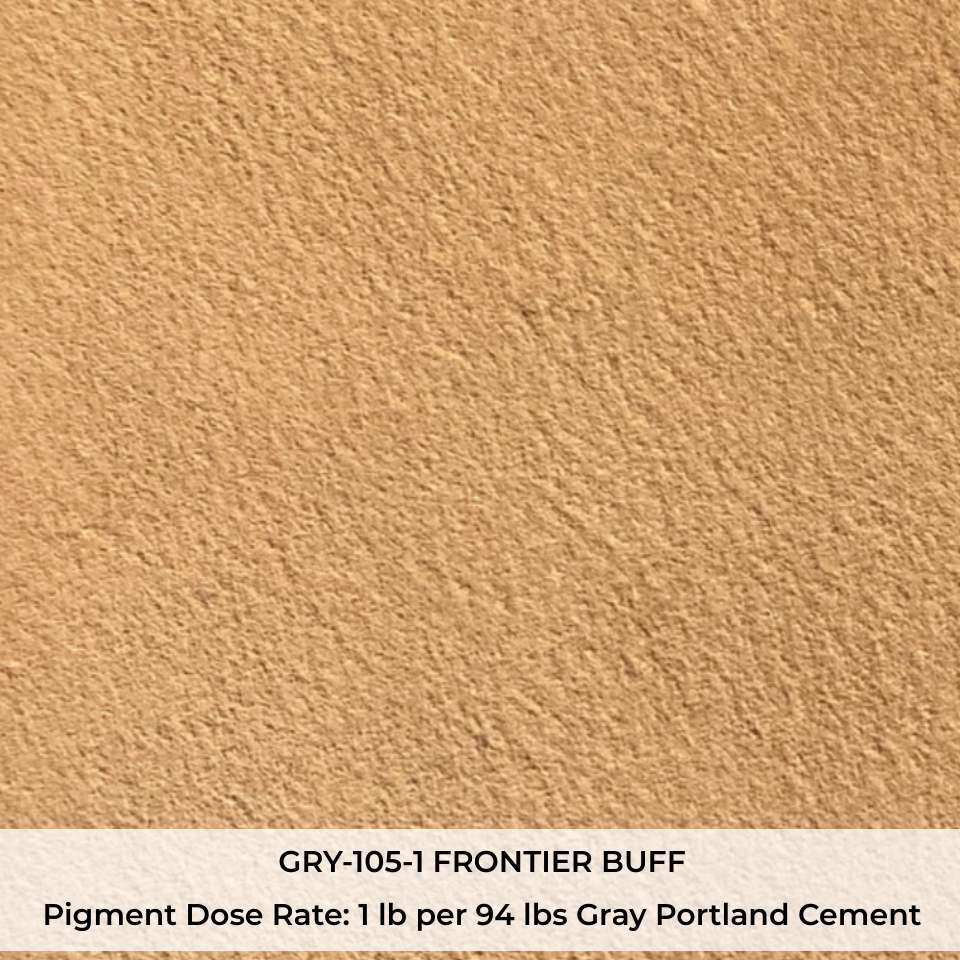 GRY-105-1 FRONTIER BUFF Pigment