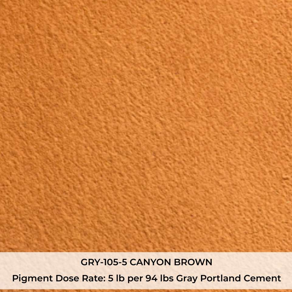GRY-105-5 CANYON BROWN Pigment