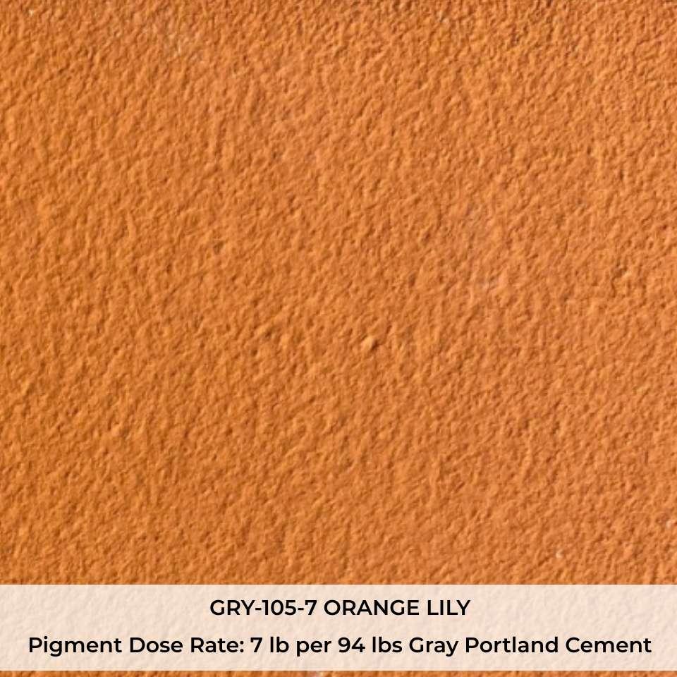 GRY-105-7 ORANGE LILY Pigment