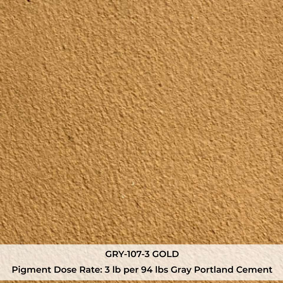 GRY-107-3 GOLD Pigment