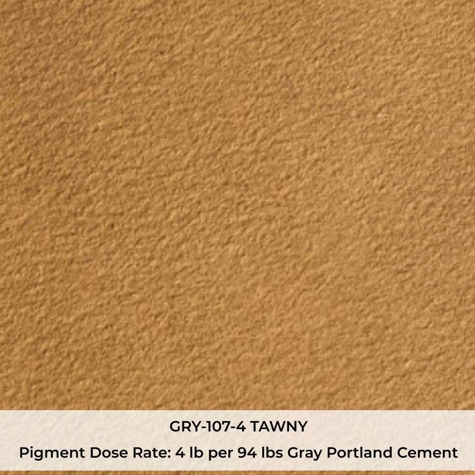 GRY-107-4 TAWNY Pigment