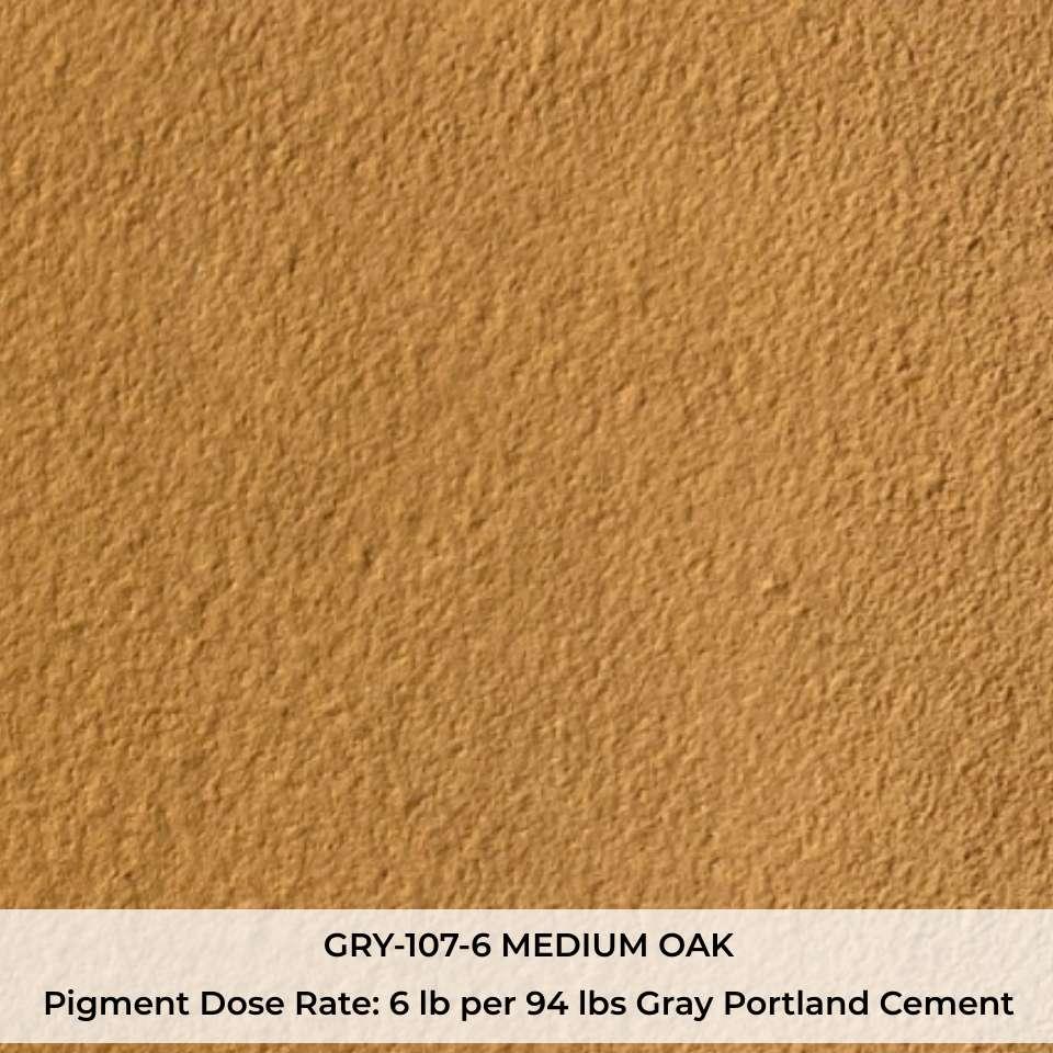 GRY-107-6 MEDIUM OAK Pigment