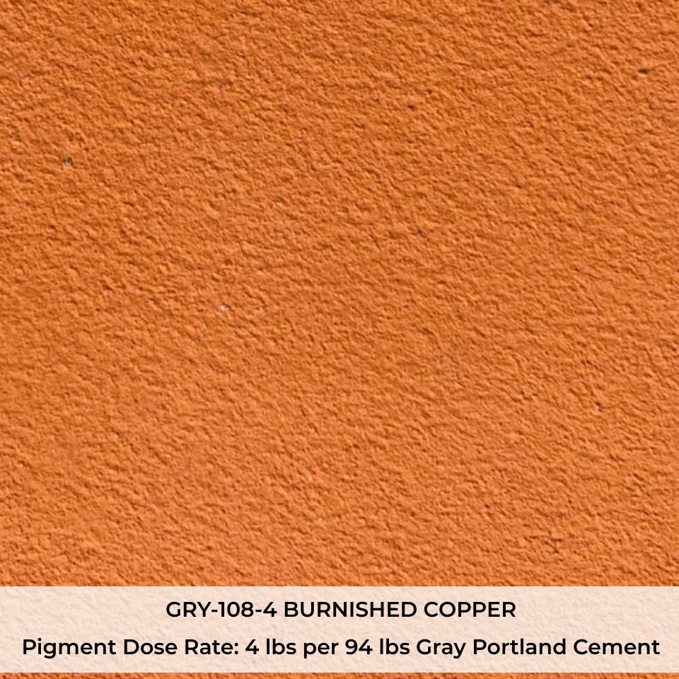 GRY-108-4 BURNISHED COPPER Pigment