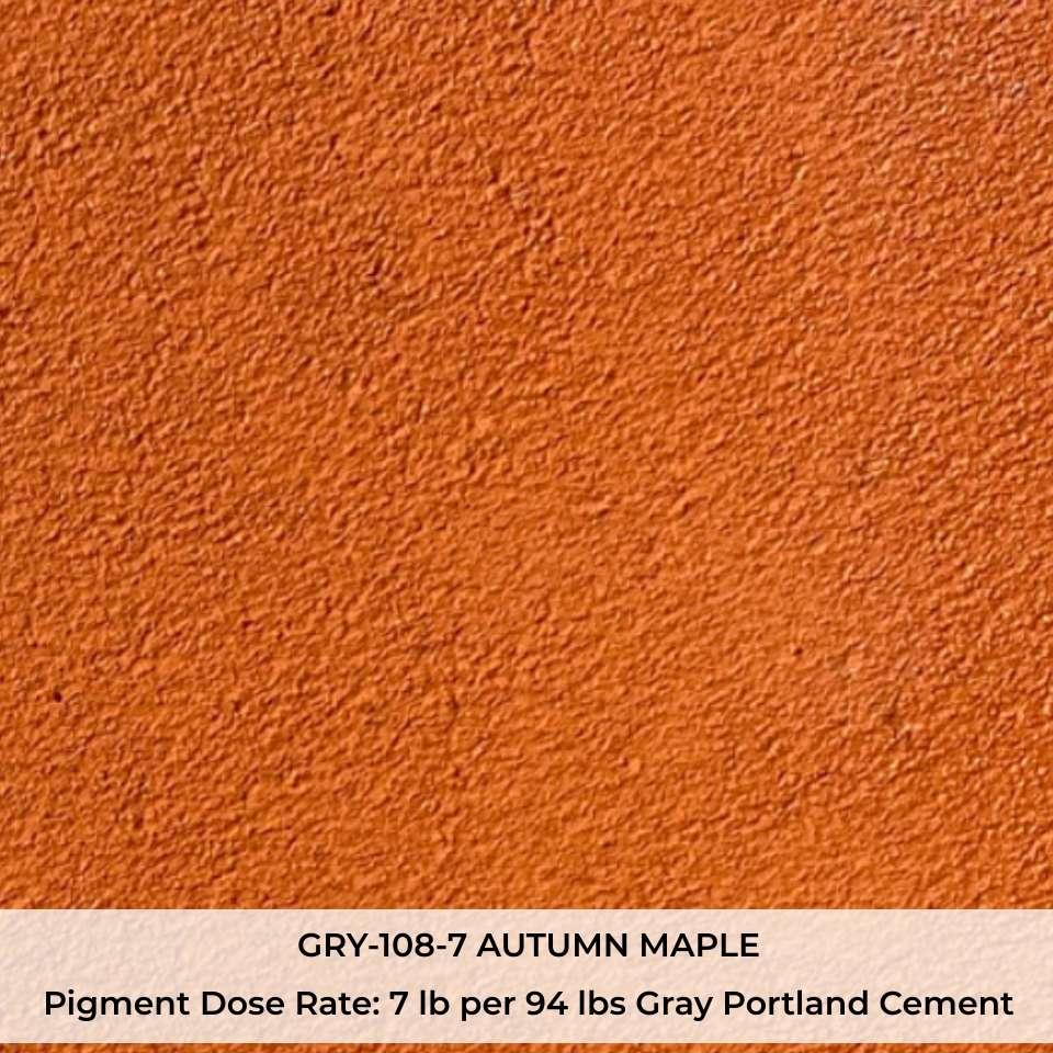 GRY-108-7 AUTUMN MAPLE Pigment