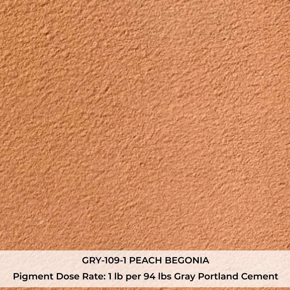 GRY-109-1 PEACH BEGONIA Pigment