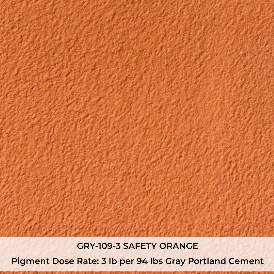 GRY-109-3 SAFETY ORANGE Pigment