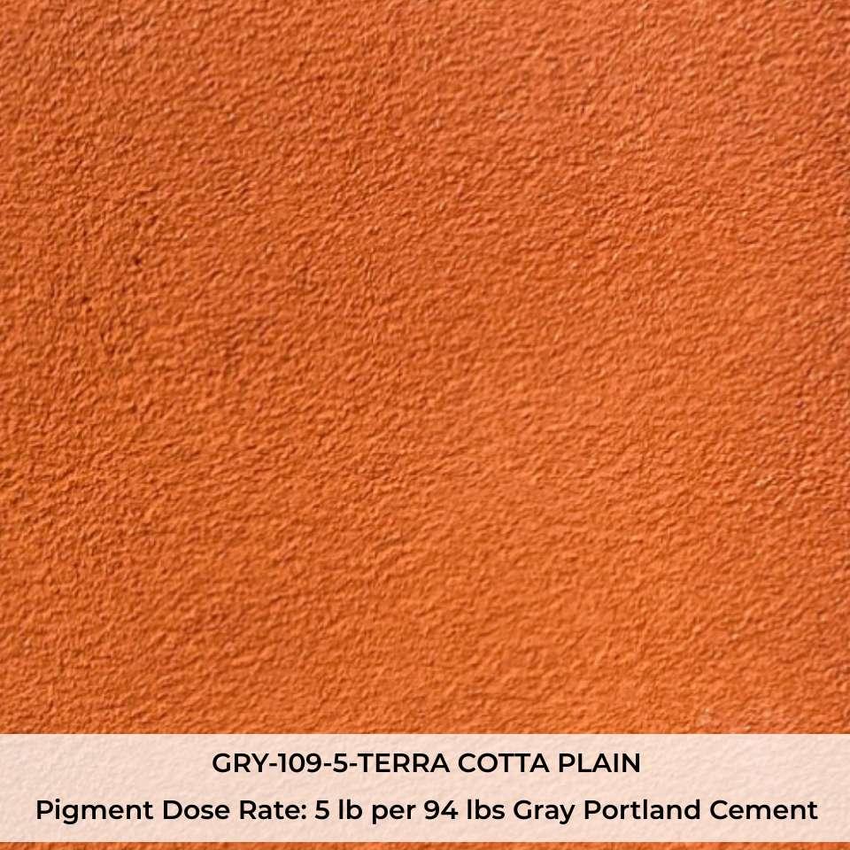 GRY-109-5-TERRA COTTA PLAIN Pigment