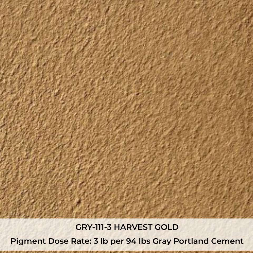 GRY-111-3 HARVEST GOLD Pigment