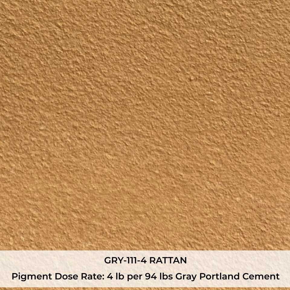 GRY-111-4 RATTAN Pigment