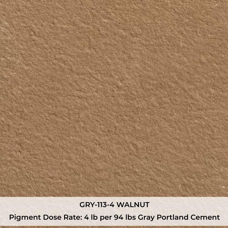 GRY-113-4 WALNUT Pigment