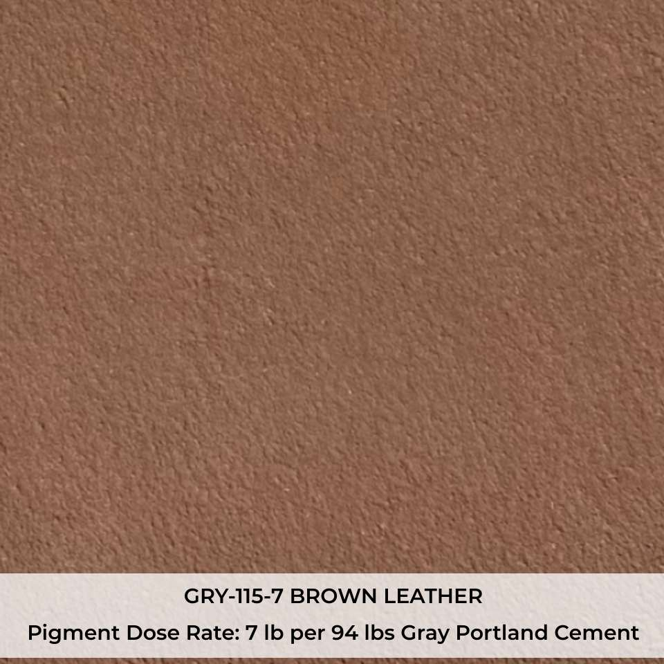 GRY-115-7 BROWN LEATHER Pigment