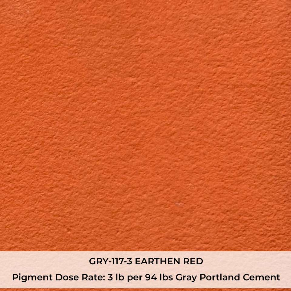 GRY-117-3 EARTHEN RED Pigment