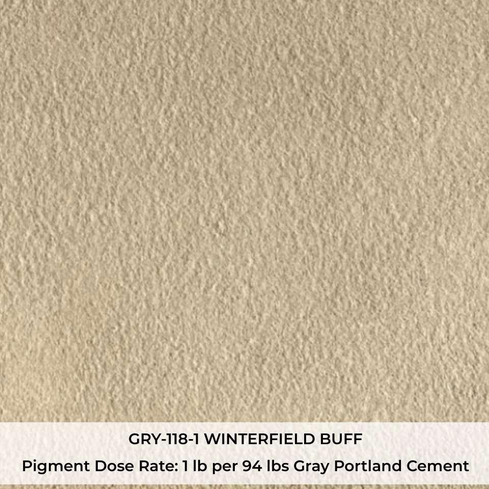 GRY-118-1 WINTERFIELD BUFF Pigment