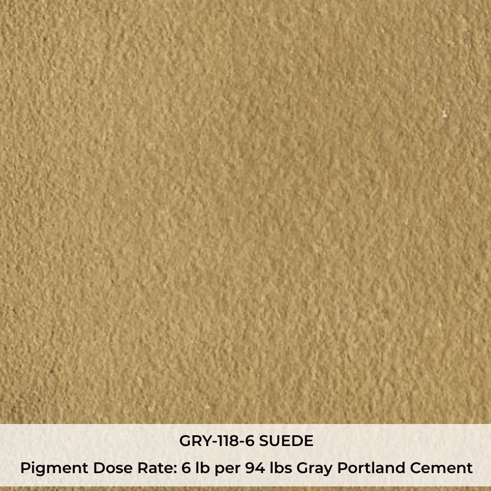 GRY-118-6 SUEDE Pigment