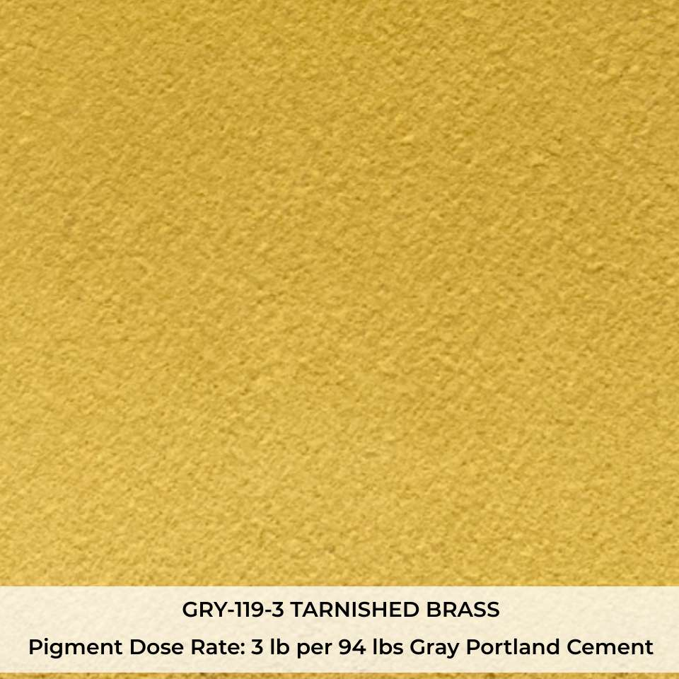 GRY-119-3 TARNISHED BRASS Pigment