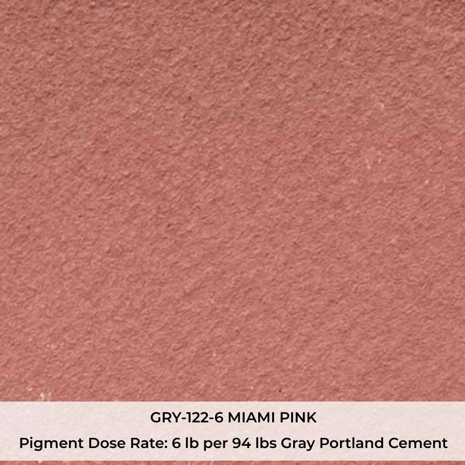 GRY-122-6 MIAMI PINK Pigment
