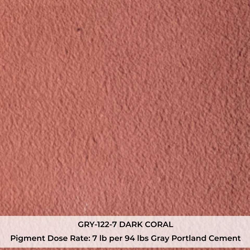 GRY-122-7 DARK CORAL Pigment