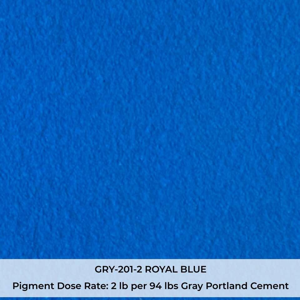 GRY-201-2 ROYAL BLUE Pigment