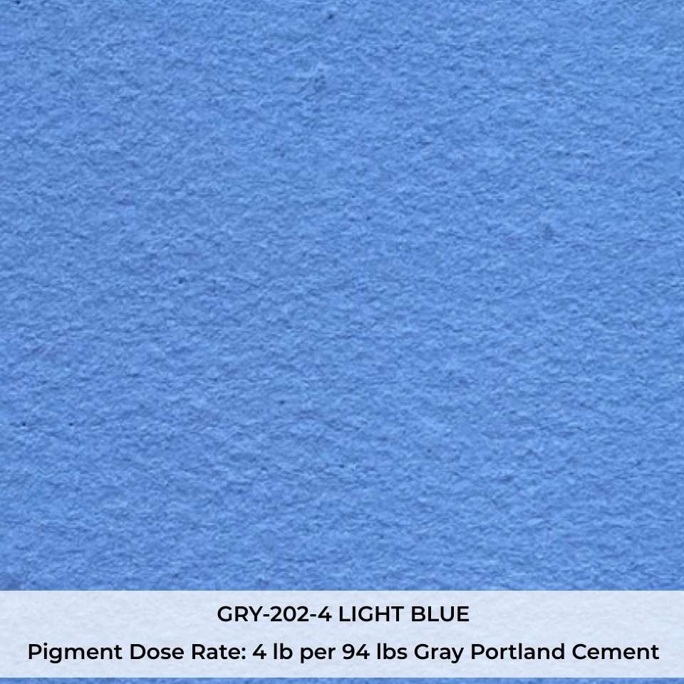 GRY-202-4 LIGHT BLUE Pigment