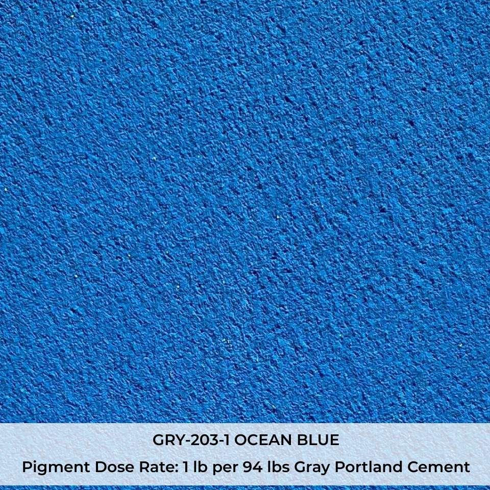 GRY-203-1 OCEAN BLUE Pigment