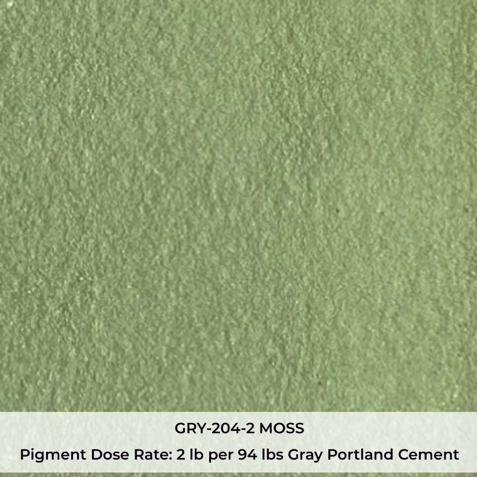 GRY-204-2 MOSS Pigment