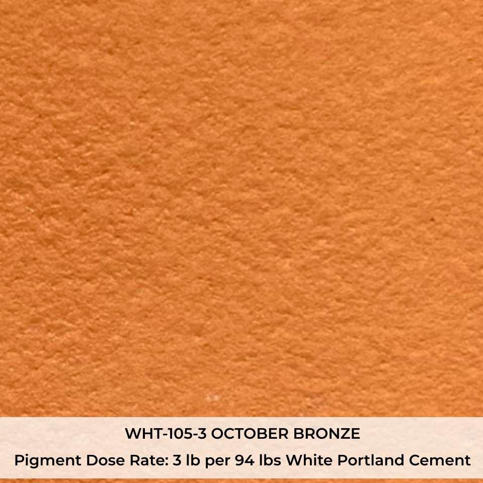 WHT-105-3 OCTOBER BRONZE Pigment