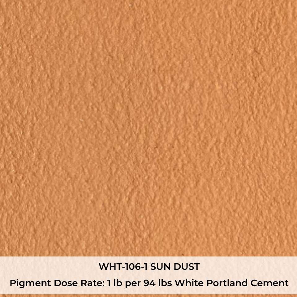 WHT-106-1 SUN DUST Pigment