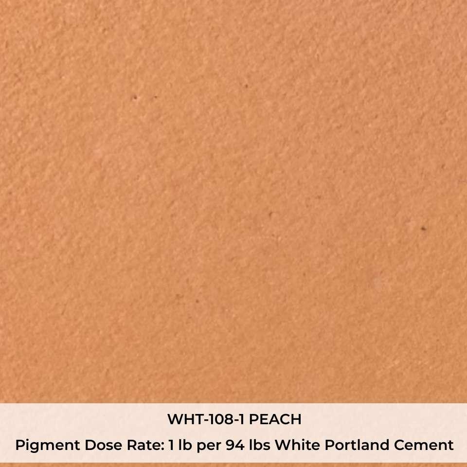 WHT-108-1 PEACH Pigment