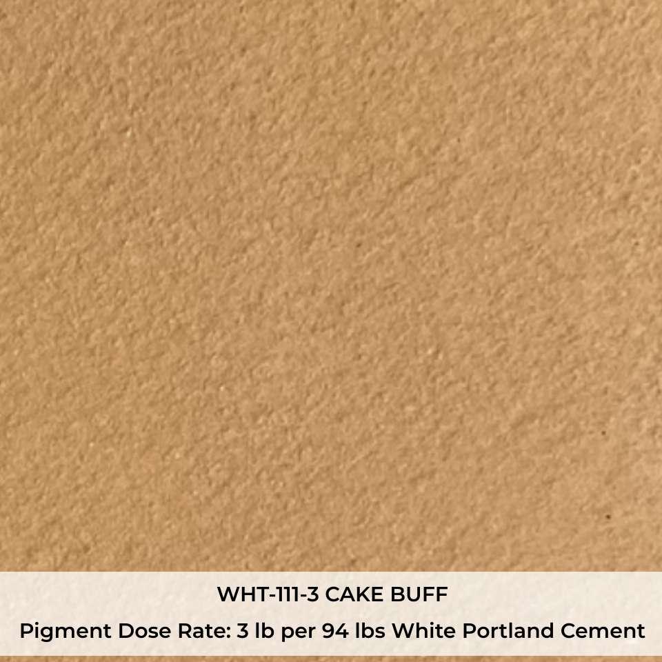 WHT-111-3 CAKE BUFF Pigment
