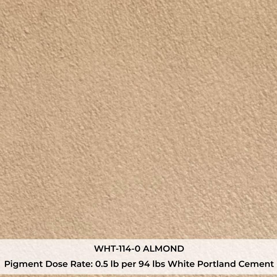WHT-114-0 ALMOND Pigment