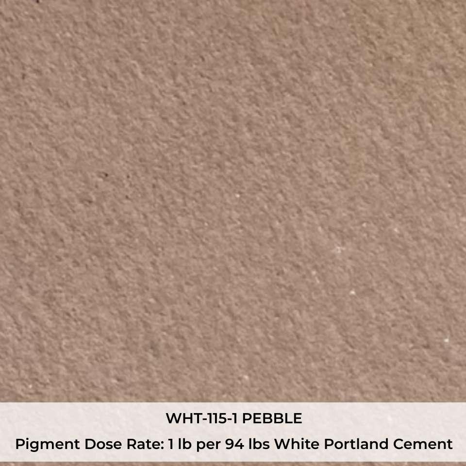 WHT-115-1 PEBBLE Pigment