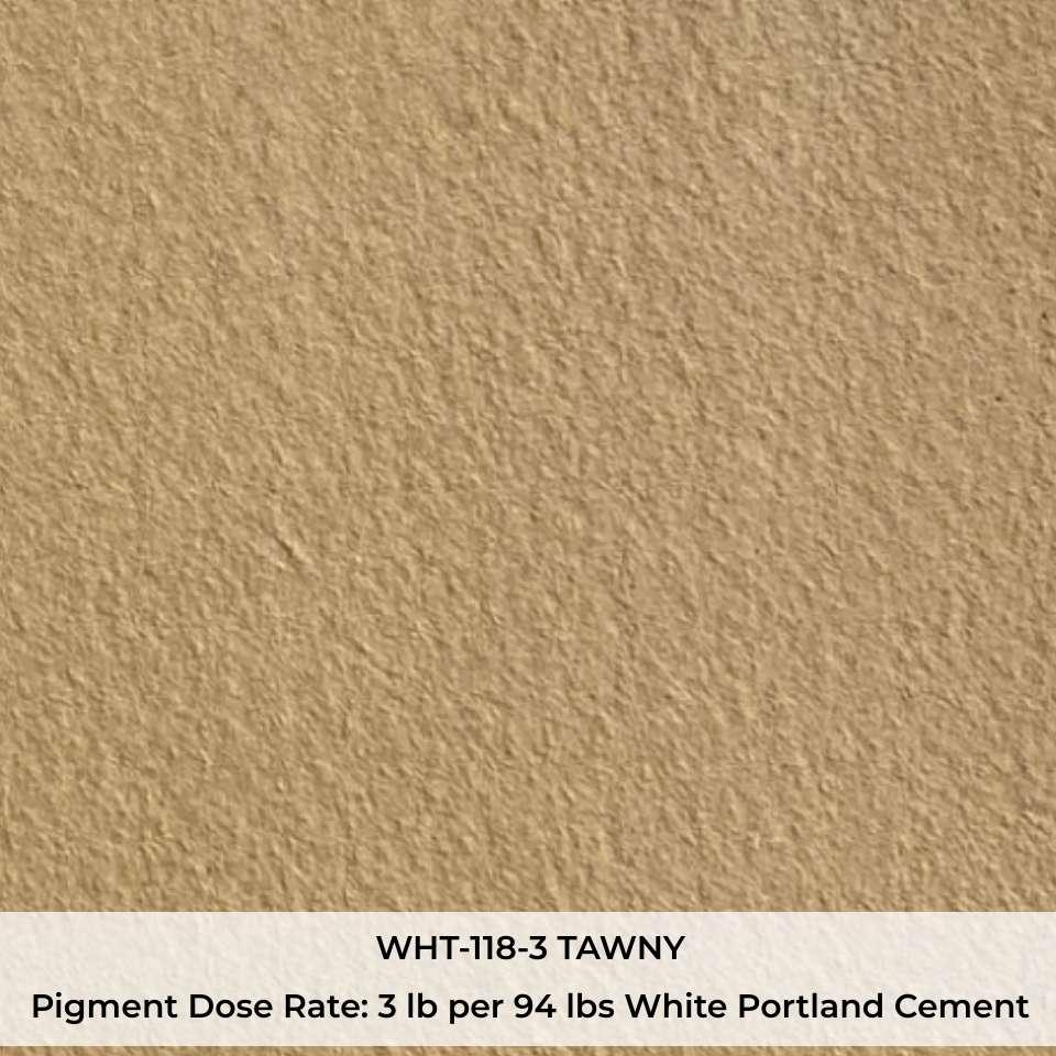 WHT-118-3 TAWNY Pigment