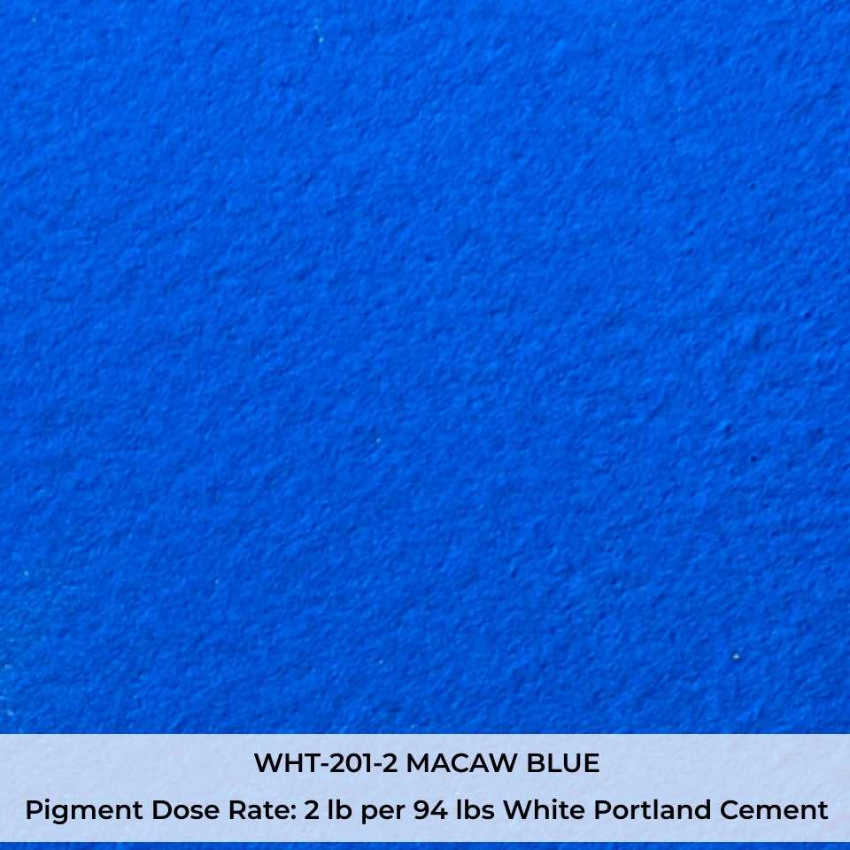 WHT-201-2 MACAW BLUE Pigment