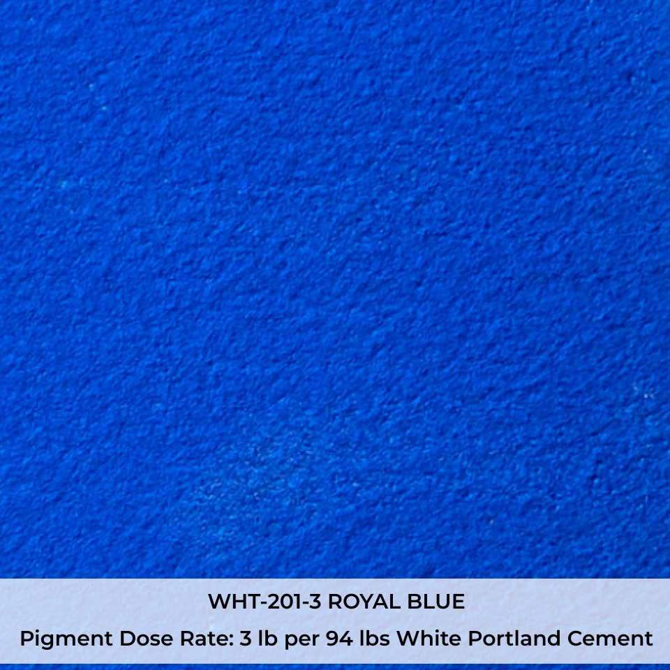 WHT-201-3 ROYAL BLUE Pigment