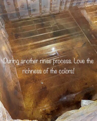 Rinsing Residue