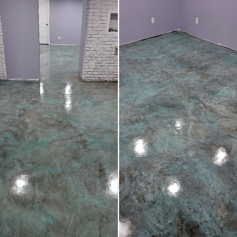 Concrete Acid Stain Colors How To