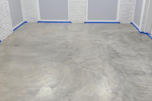 Basement Concrete Floor - Before