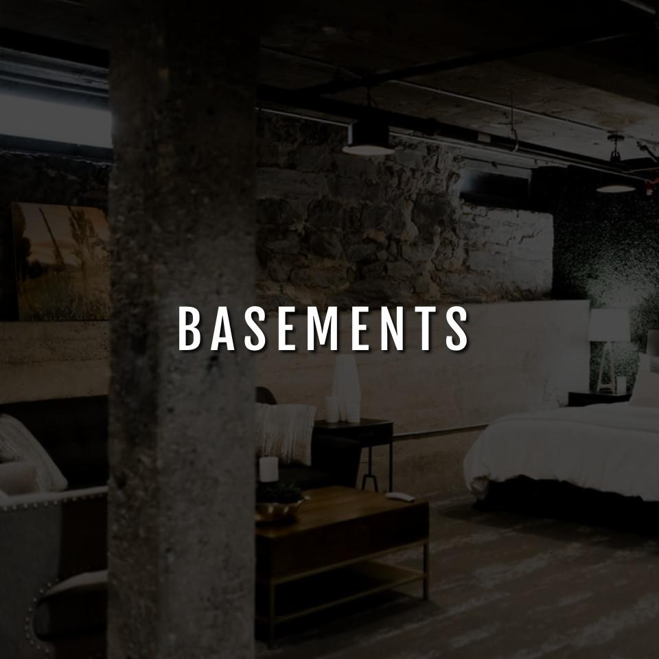 Design by project: Concrete Basement Stain Ideas