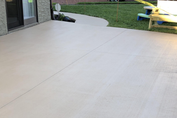 Patio Brushed Concrete EasyTint Khaki Stain