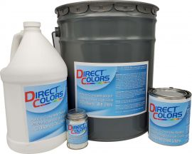 Directcolors - Concrete Sealer, Water-Based, Satin Finish