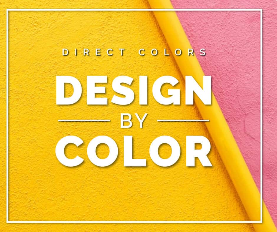 Direct colors design by color