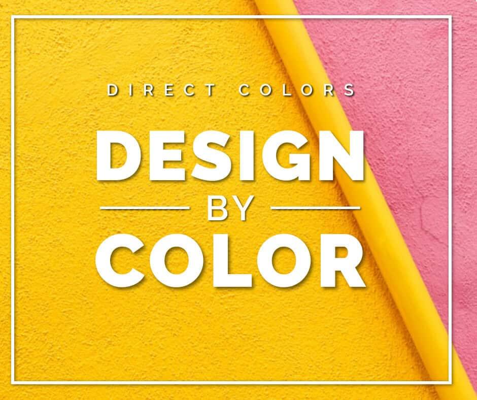 Direct colors design by color