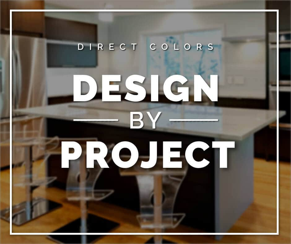 Direct color design by projects