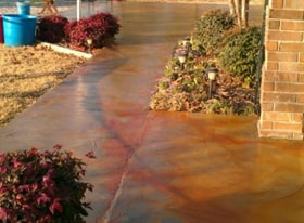 Concrete Driveway Color & Seal Products