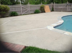 Concrete Pool Deck Resurfacing Products